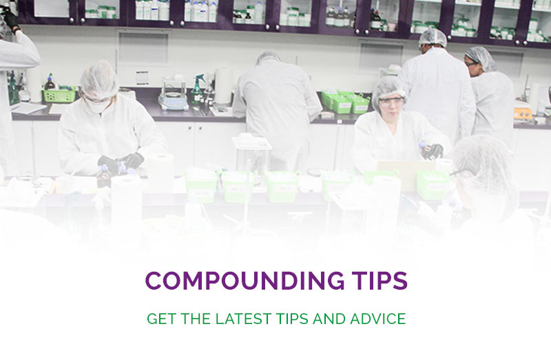 MEDISCA Network now offers helpful compounding tips for everyone! Be sure to come visit us regularly as we post new tips from our team of experts.