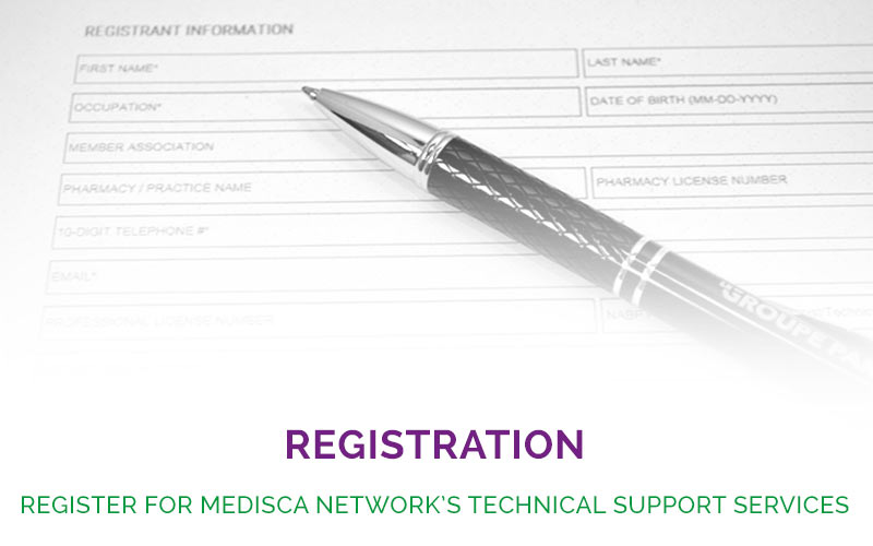 Register for MEDISCA Network's Technical Support Services